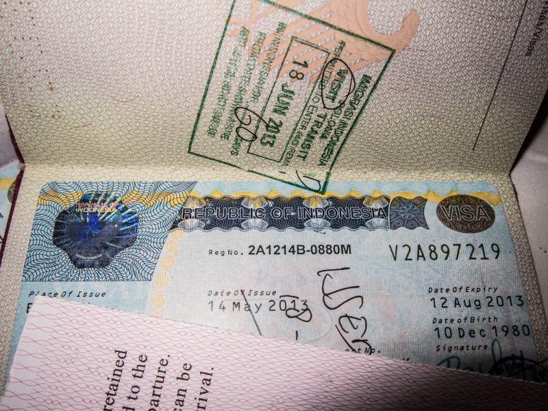 Visa Indonesia Bali Immigration